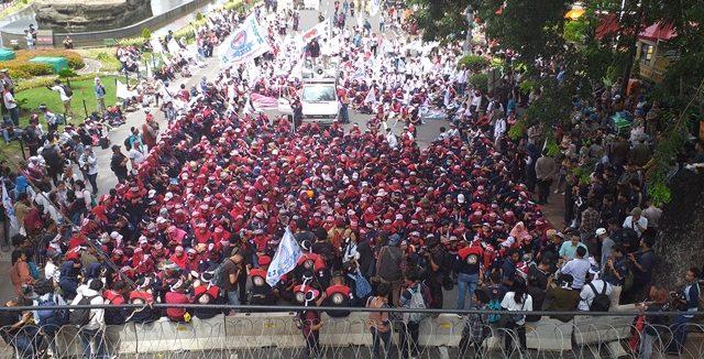 Awal November Ini, Ribuan Buruh Akan Kembali Turun Kejalan 5 (1)